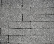 Oprit-steen 11x33x8cm grijs uitgewassen