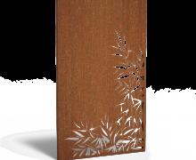 Cortenstaal bamboe rechts