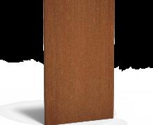 Cortenstaal paneel Basic 110x180cm