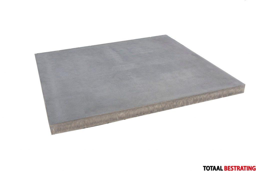 60x60x4cm betonlook grijs