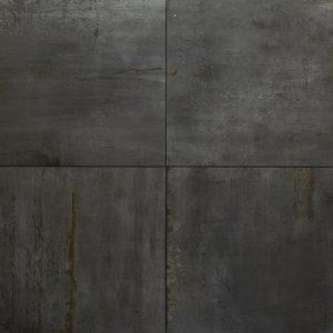 'TRE' Ferro Antracite 60x60x3cm robuuste keramische buitentegels